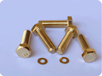 FOS brass bolts,nuts,screws certified ISO9001,RoHS